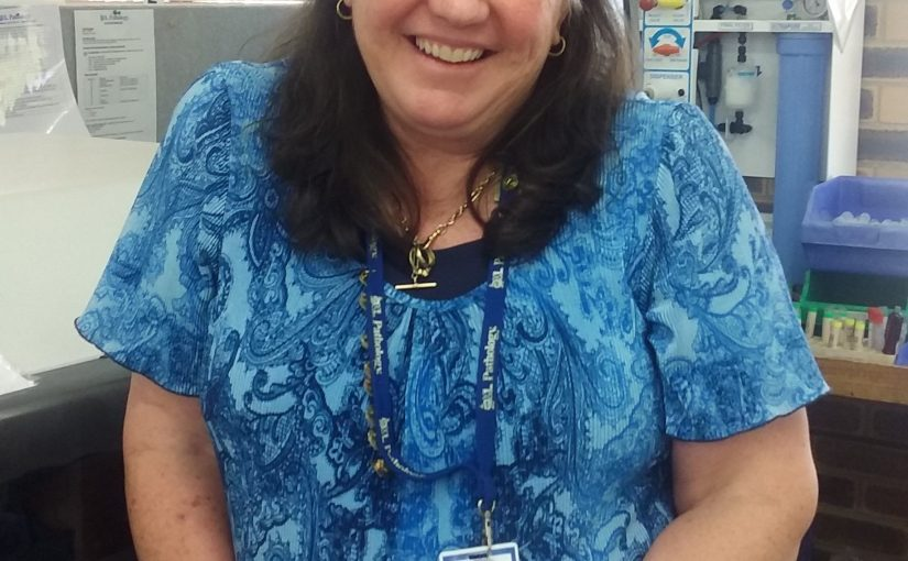Julie's 40-year commitment to pathology